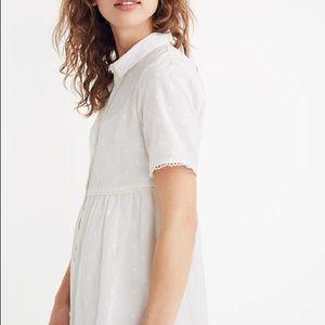 NWT - Madewell Clipdot Midi Dress